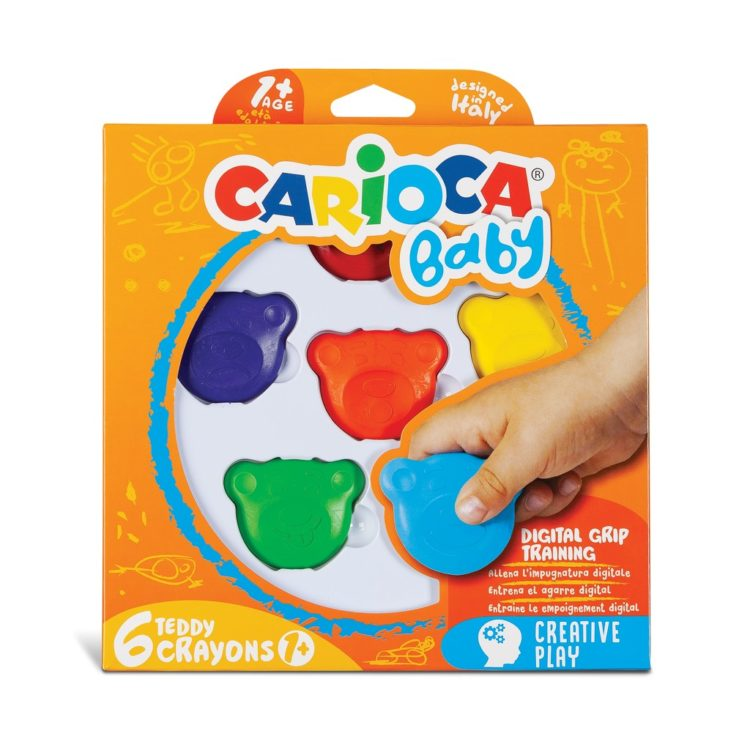 Carioca Baby 1+ creioane cerate Teddy cutie