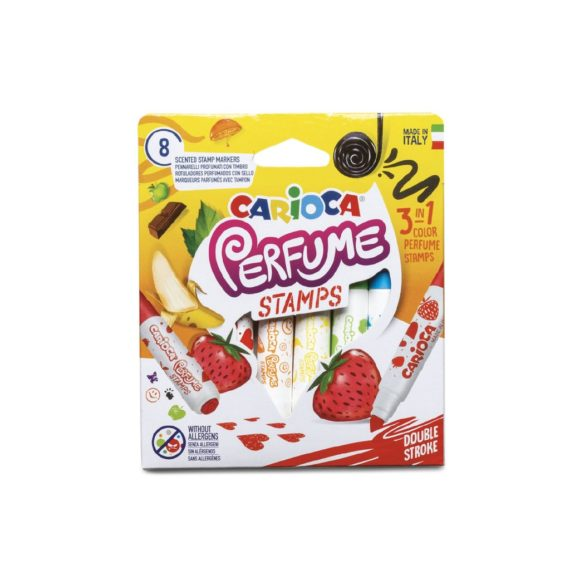 Carioca parfumată Carioca Stamp 8/set