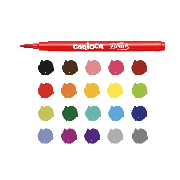 Carioca Super Brush culori