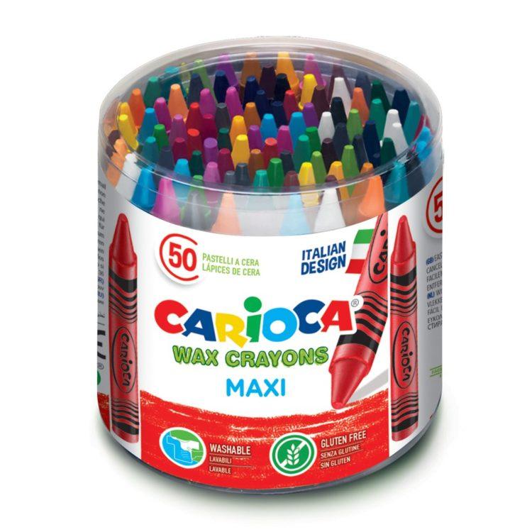 Creioane cerate Maxi 50/set