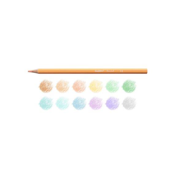 Creioane color Carioca Pastel culori