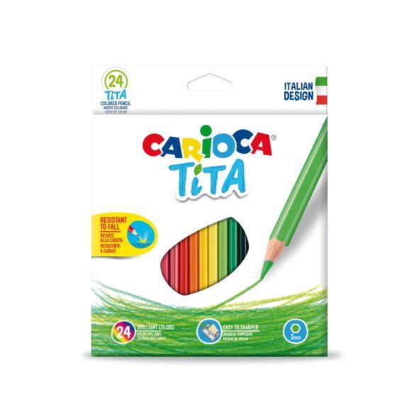 Creioane color Tita Clasic 24/set