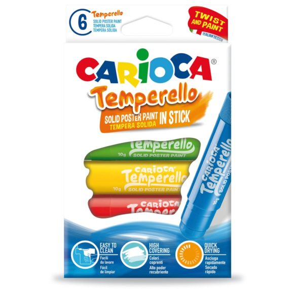 Creion-tempera Temperello 6/set