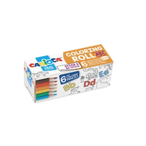 Hârtie Mini Coloring Roll Carioca ABC