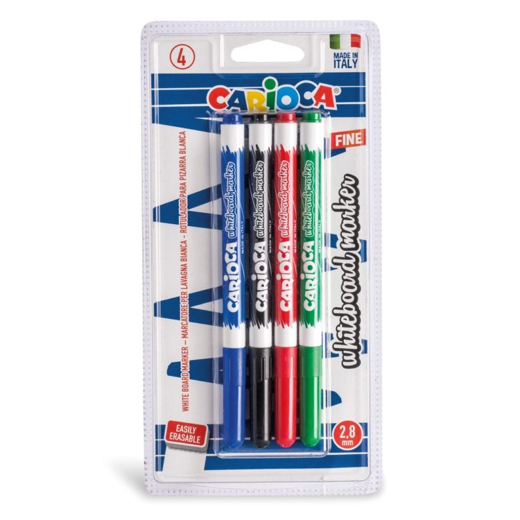 Marker pentru whiteboard Carioca 4/set