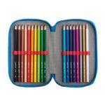 Penar Carioca Color Fabric cu trei compartimente interior 3