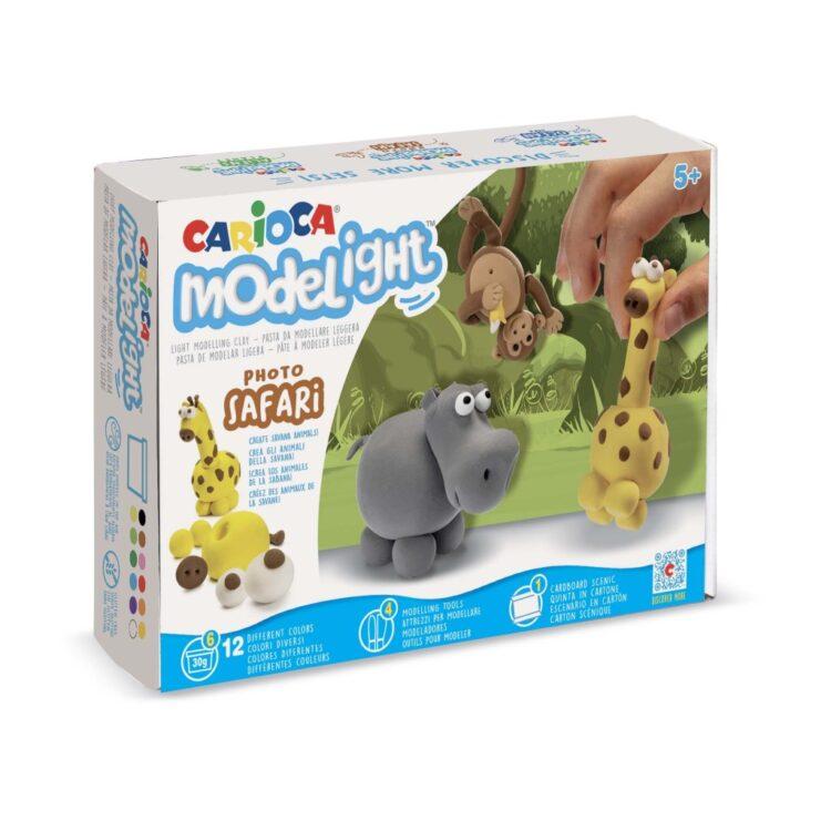 Plastilină ModeLight Maxi PlayBox Safari