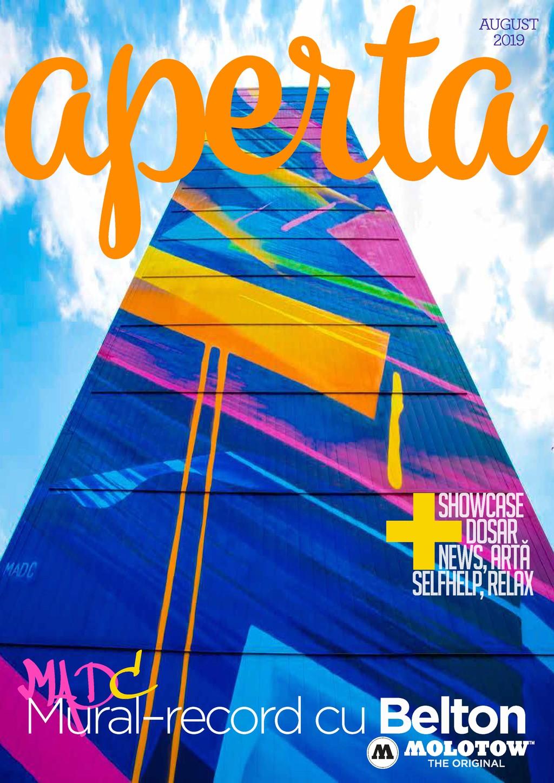 Aperta Magazin – august 2019