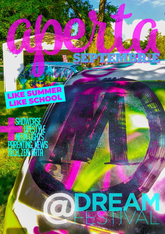 Aperta Magazin – septembrie 2018