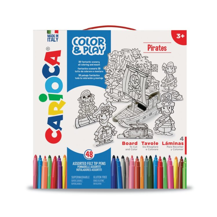 Set creativ Color & Play Carioca Pirați - Cutie