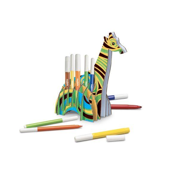 Set creativ Create & Color Carioca Girafa 3D - Model