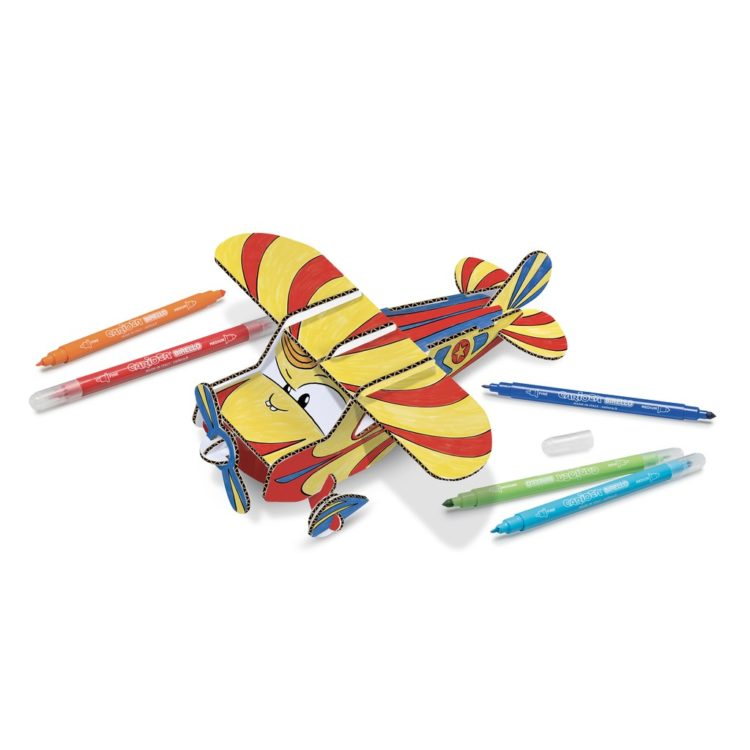 Set creativ Create & Color Carioca Jet Junior 3D - Model